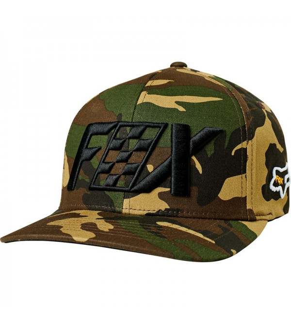 FOX Hat CZAR FLEXFIT CAMO