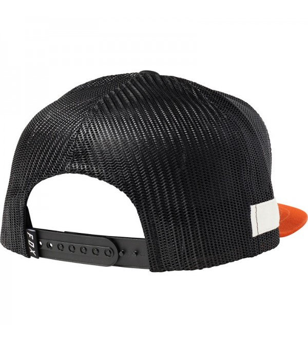 FOX Hat Charger Snapback Black/Orange