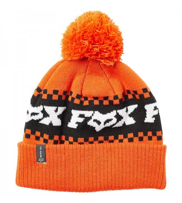 FOX Beanie Overkill Atomic Orange OS