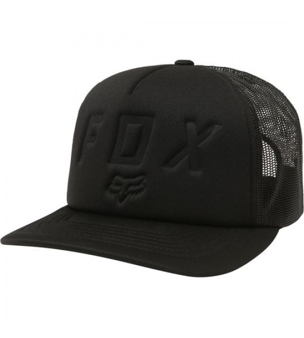 FOX Youth Hat FOAMING AT THE MOTH SB BLACK OS