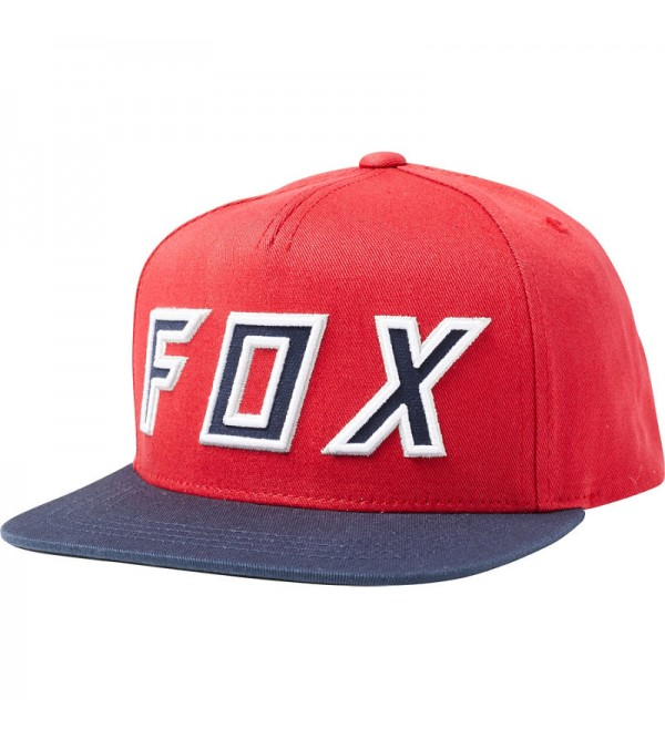 FOX Youth Possesed Snapback Crdnl