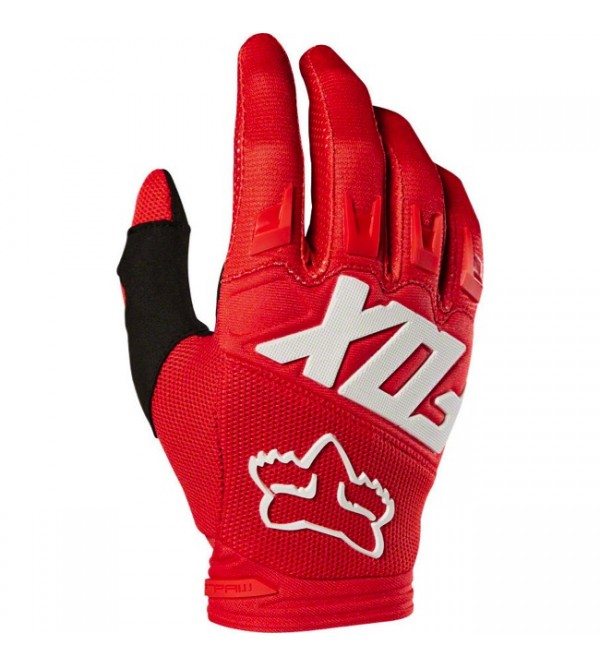 FOX Gloves JUNIOR DIRTPAW RACE RED
