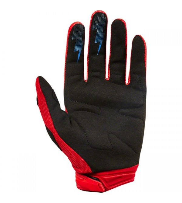 FOX cimdi JUNIOR DIRTPAW RACE RED
