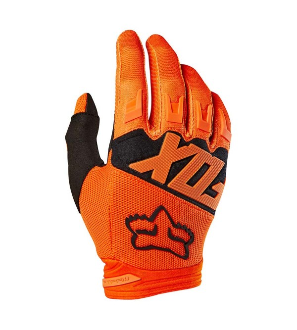 FOX Gloves JUNIOR DIRTPAW RACE ORANGE