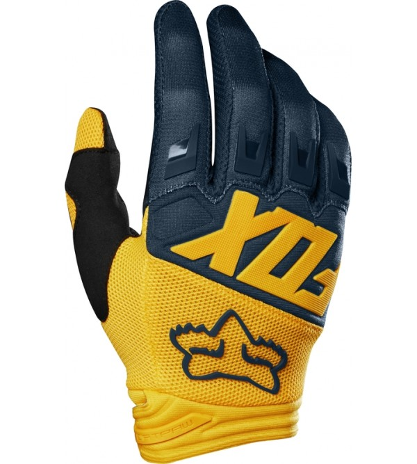 FOX cimdi DIRTPAW Navy/Yellow
