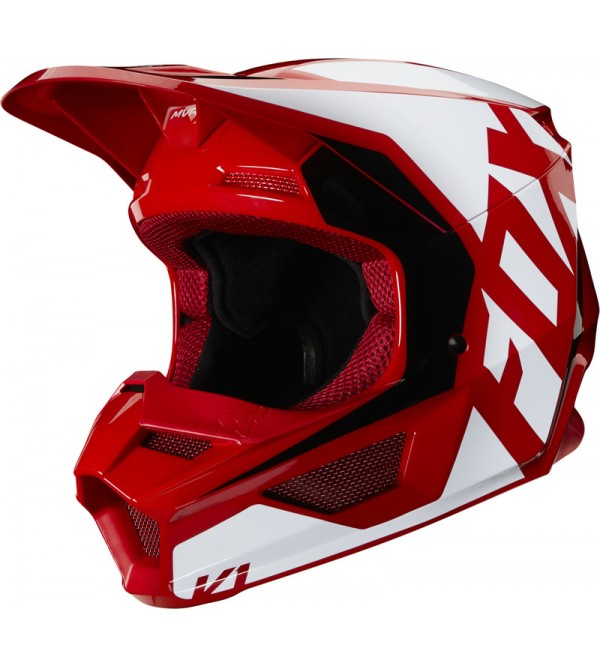 FOX helmet V-1 Prix Ece Flame Red