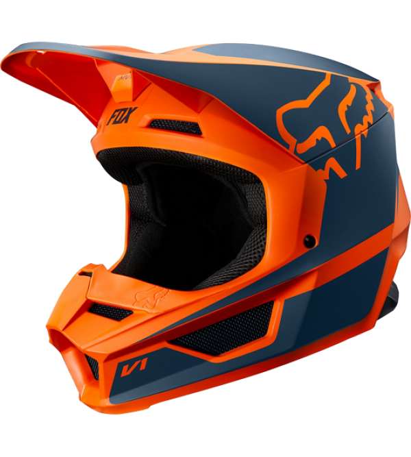 FOX helmet V-1 PRZM Orange