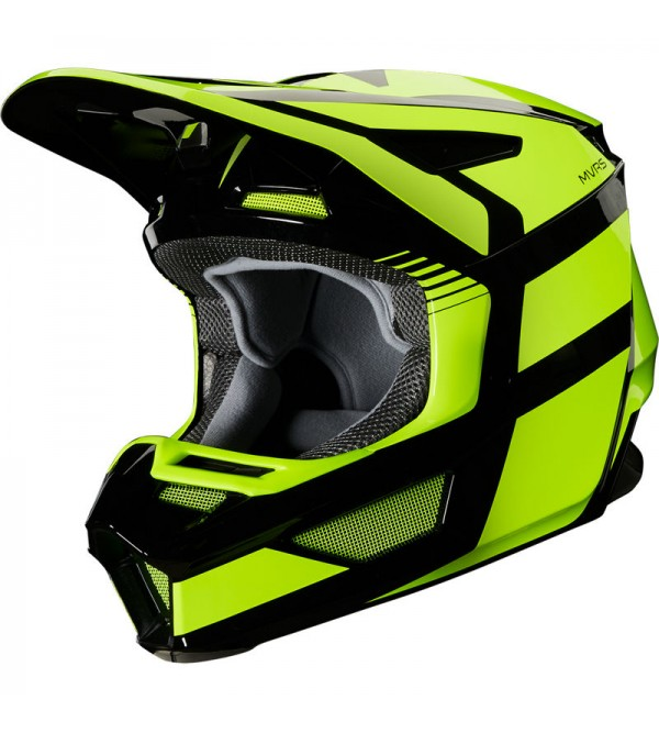 FOX helmet V-2 Hayl ECE Flo Yellow