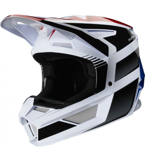 FOX helmet V-2 Hayl ECE Blue/Red