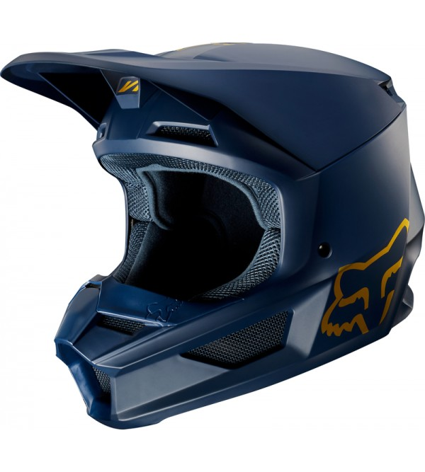 FOX helmet V-1 SE Navy/Gold