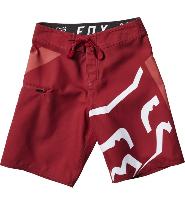 FOX YOUTH STOCK BOARDSHORT CRDNL