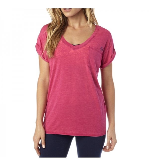 FOX Lady Tees WHIRLWIND V NECK