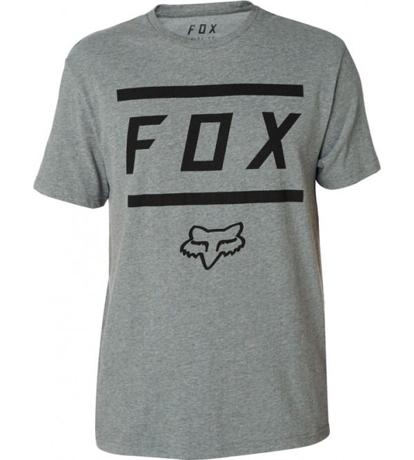 FOX T-krekls SS HETAHER DARK GREY