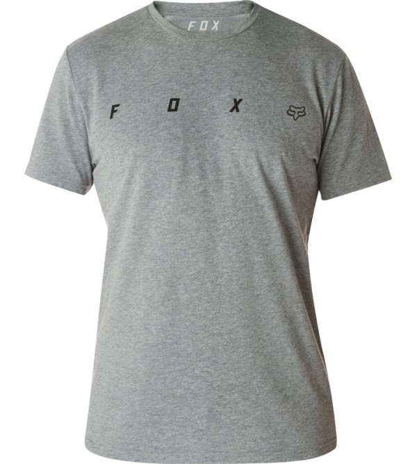 FOX T-krekls AGENT SS HEATHER DARK GREY