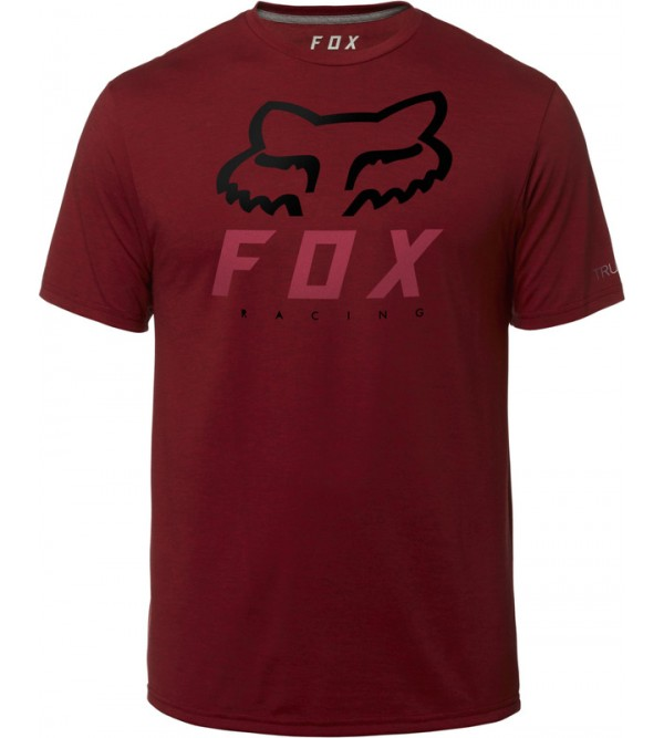 FOX Tee HERITAGE FORGER SS TECH RED