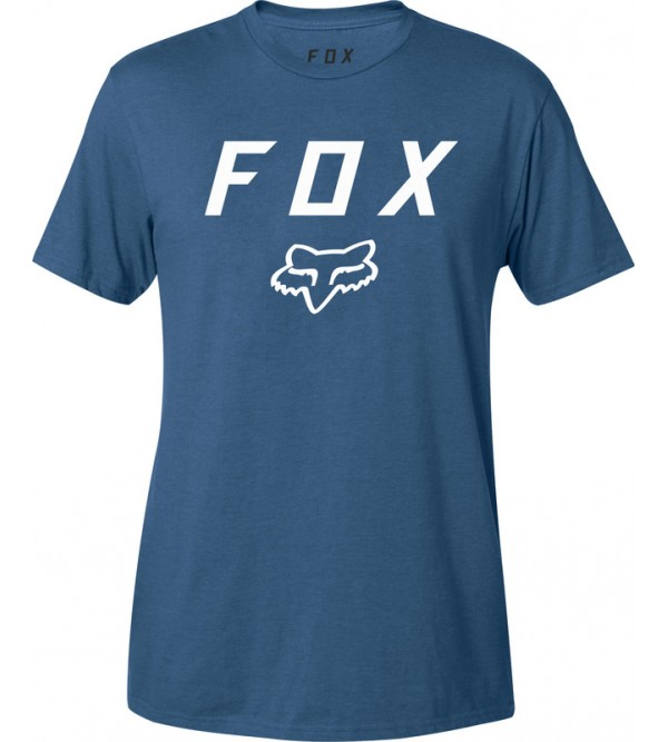 FOX Tee LEGACY MOTH SS DST BLUE