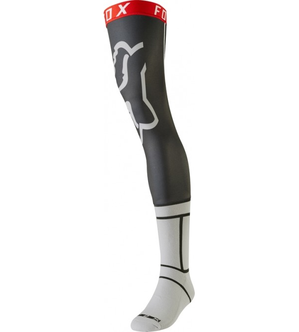 FOX zeķes Knee Brace Light Grey