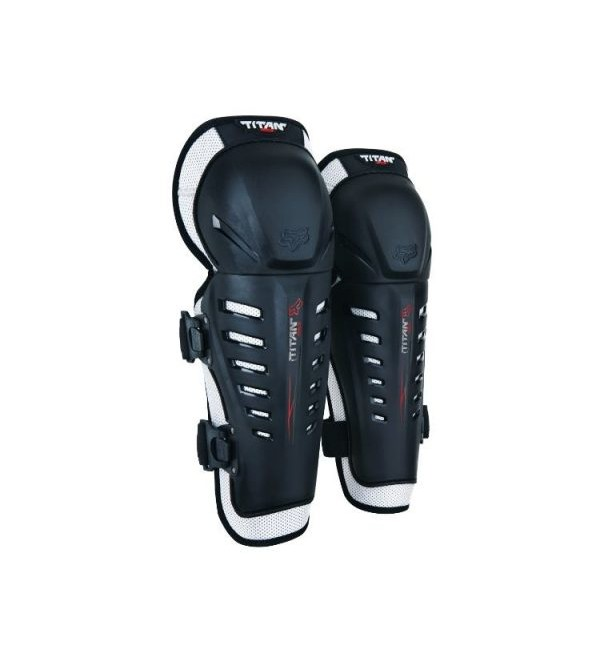 FOX Knee Guards YTH TITAN Black OS