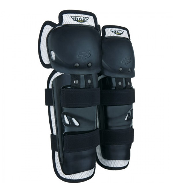 FOX Knee Guards TITANSPORT Black OS