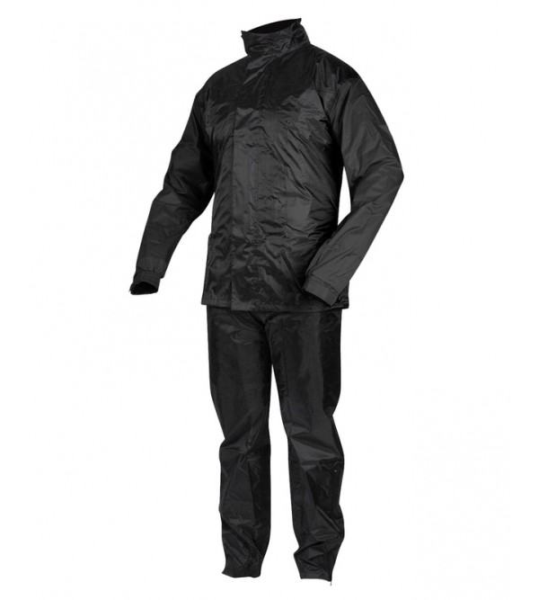 Rebelhorn Two-Piece Waterproof Suit Rain Black