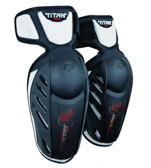 Youth Titan Race Elbow Guards Black