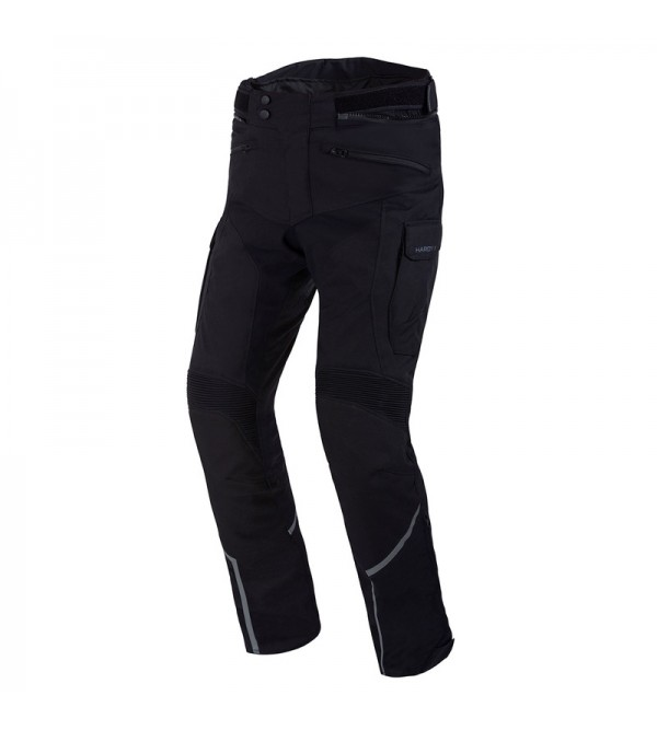 Rebelhorn Hardy II Black Textile Motorcycle Pants