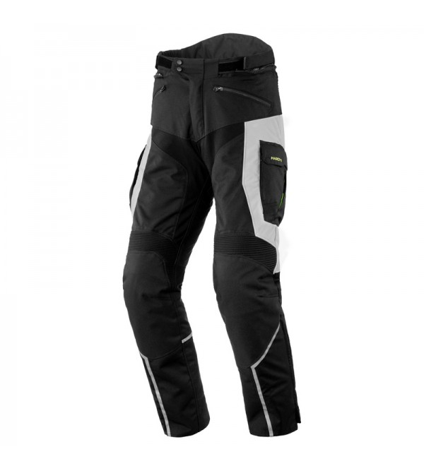 Rebelhorn Hardy II Black/Grey Textile Motorcycle P...