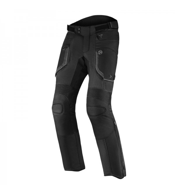 Rebelhorn Borg Black Textile Motorcycle Pants
