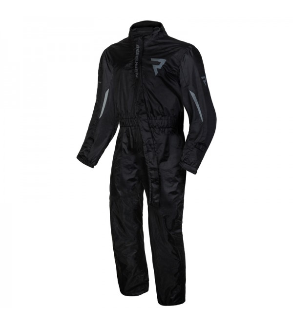 Rebelhorn Travel Black Motorcycle Rain Suit