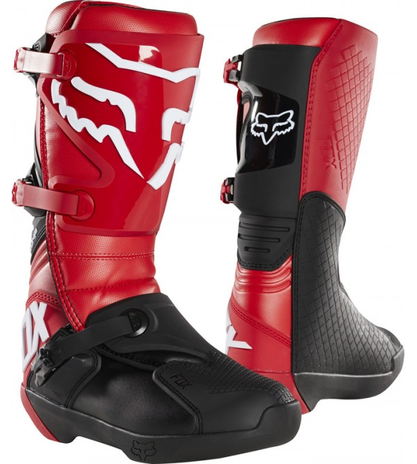 Comp Boot Flame Red