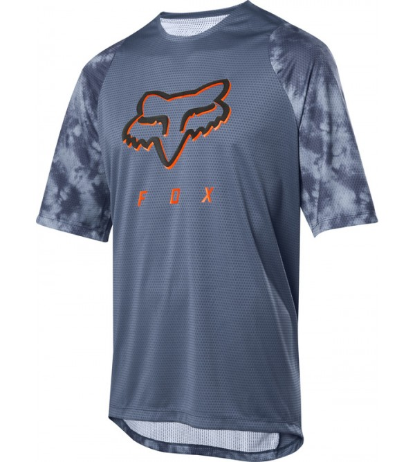 DEFEND SS ELEVATED JERSEY BLUE STEEL S