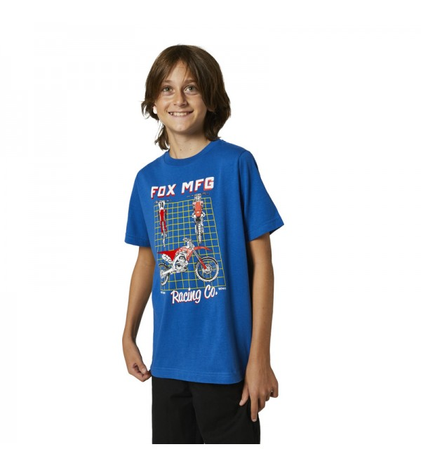 Youth Cypher Ss Tee Royal Blue