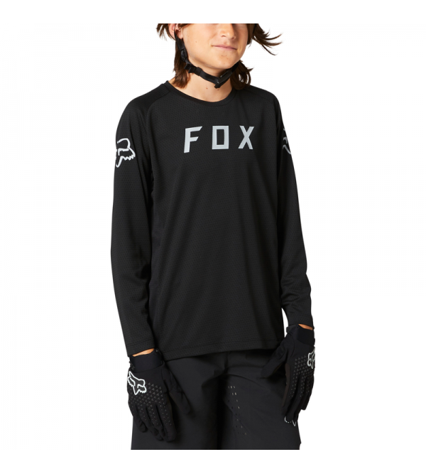Youth Defend Ls Jersey Black