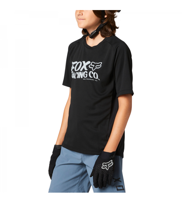 Youth Defend Ss Jersey Black