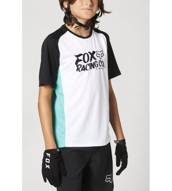 Youth Defend Ss Jersey Teal