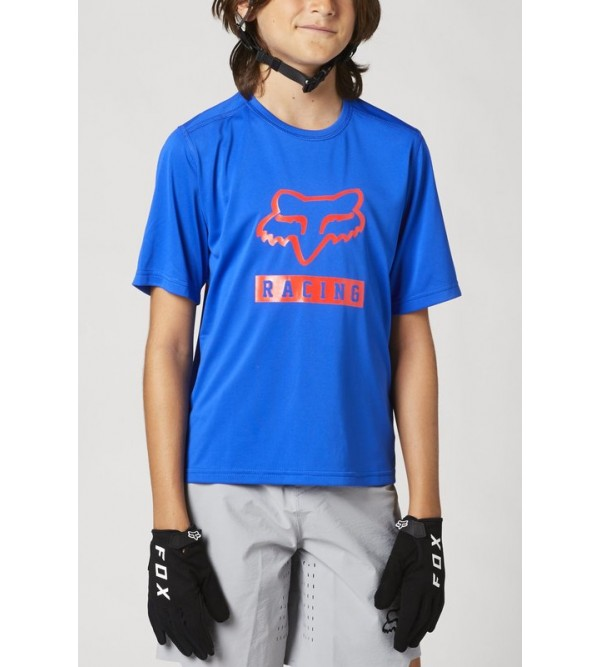 Youth Ranger Ss Jersey Blue