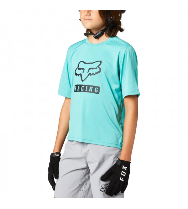 Youth Ranger Ss Jersey Teal
