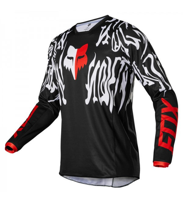 180 Peril Jersey Black/Red