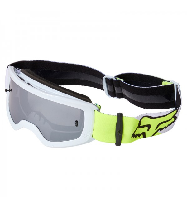 Youth Main Skew Mirrored Goggles Fluo Yellow