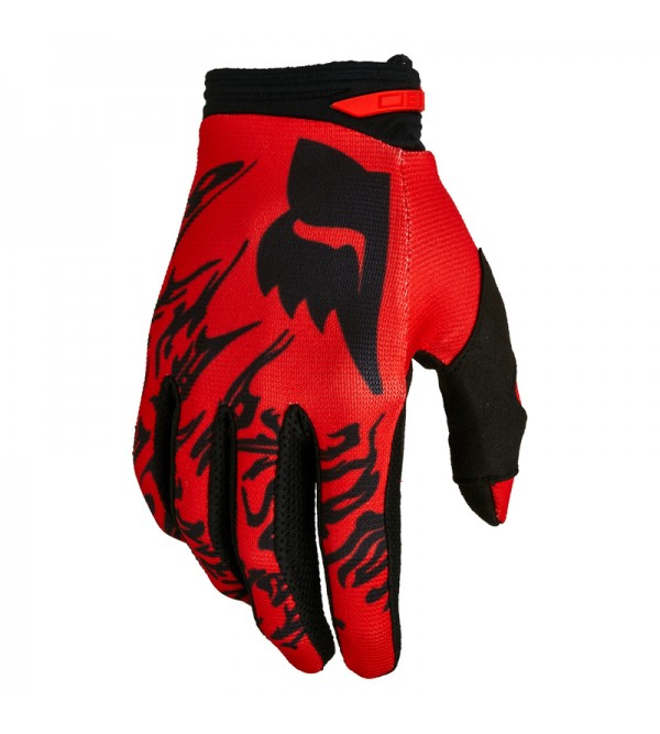 180 Peril Gloves Fluo Red