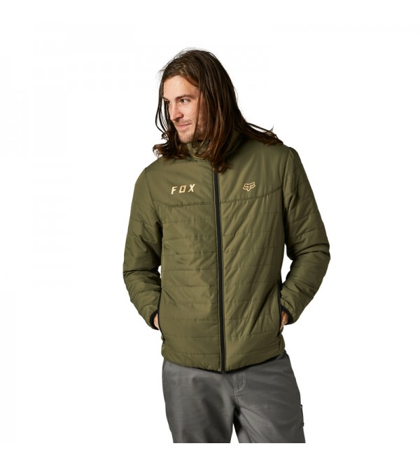Howell Puffy Jacket Fatigue Green