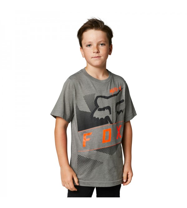 Youth Riet Basic Tee Heather Graphithe