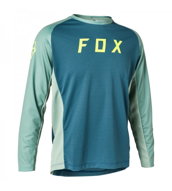 Youth Defend Long Sleeve Jersey Light Blue