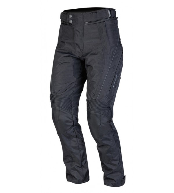Ozone Venture Lady Black Motorcycle Textile Pants