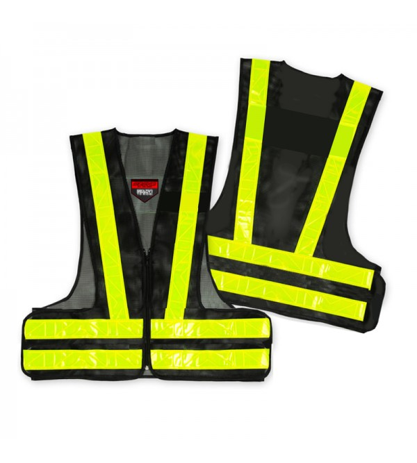 Ozone Black/Fluo Yellow ReflectIve Vest