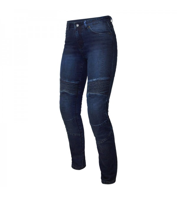 Ozone Agness II Lady Blue Motorcycle Jeans