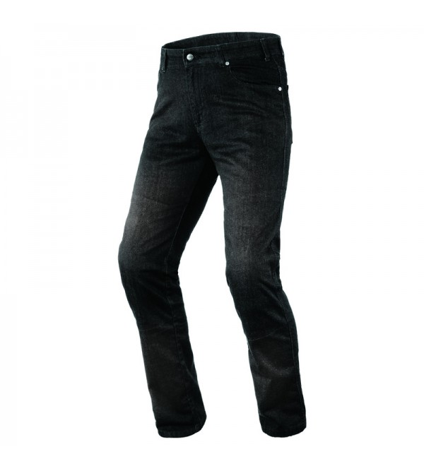 Ozone Star II Washed Black Motorcycle Jeans