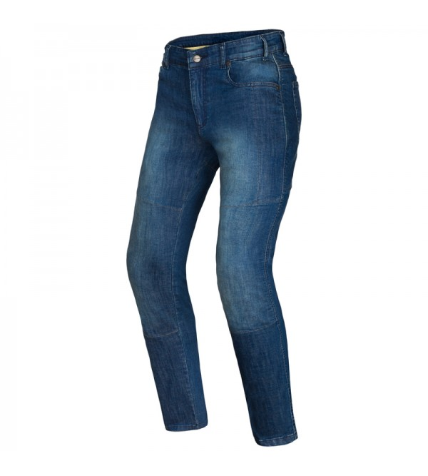 Ozone Star II Washed Blue Motorcycle Jeans