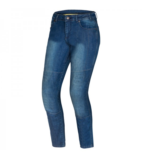 Ozone Star II Lady Washed Blue Motorcycle Jeans