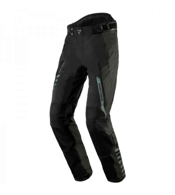Rebelhorn Hiker II Black Textile Motorcycle Pants
